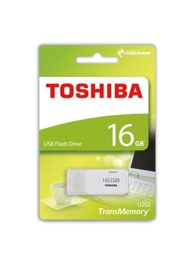 Toshiba Toshiba Hayabusa 16Gb Usb2.0 Thn-U202W0160E4 Beyaz Renkli